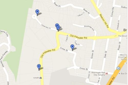 BrookSALE - Google Maps